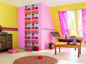 kinderzimmer gardinen. Black Bedroom Furniture Sets. Home Design Ideas